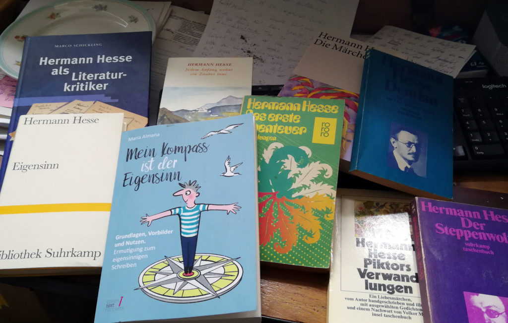 Hermann Hesse, Todestag Hermann #Hesse, Eigensinn Hermann Hesse, Hermann Hesse und der Eigensinn, Mein Kompass ist der Eigensinn, #Eigensinn, Buch schreiben, Eigensinn als Tugend, Eigensinn ist eine Tugend, Eigensinn macht Spaß